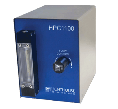 HIGH PRESSURE CONTROLER for partticle measurement in compressed gases from  0.10 µM