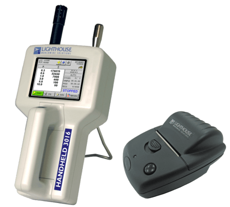 PARTICLE COUNTER HANDHELD