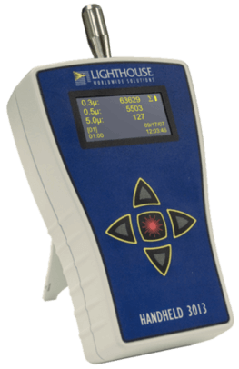 Handheld Particle Counter for spot check measurements