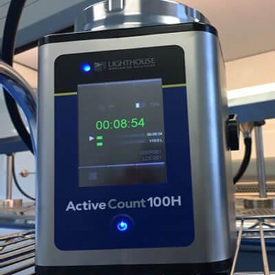 Luftkeimsammler mikrobiologische Probenahme GMP Richtlinien