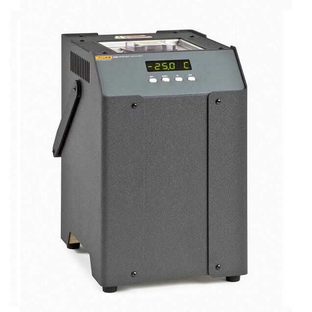 Mikrobad 7103 Fluke Pt 100 Temperaturfühler Kalibrierung