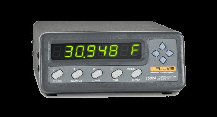 Fluke Kalibrierung Thermometer 1502  Bakrona