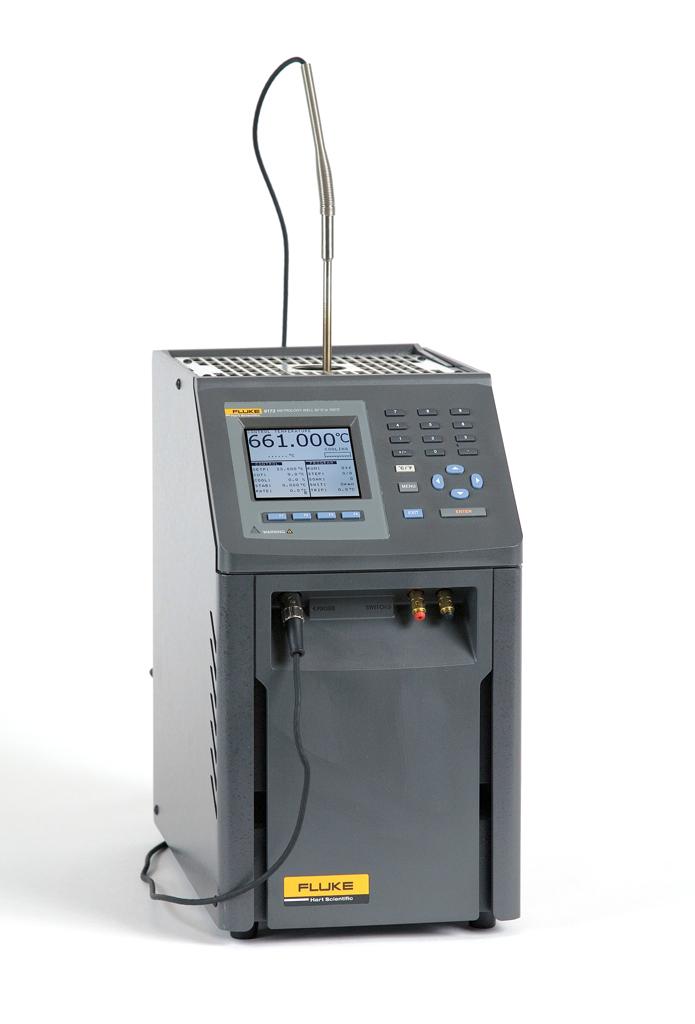 Trockenblock Kalibrator mit Referenzfühler